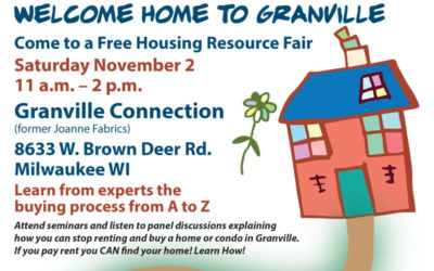 Housing Resource Fair Nov 2nd
