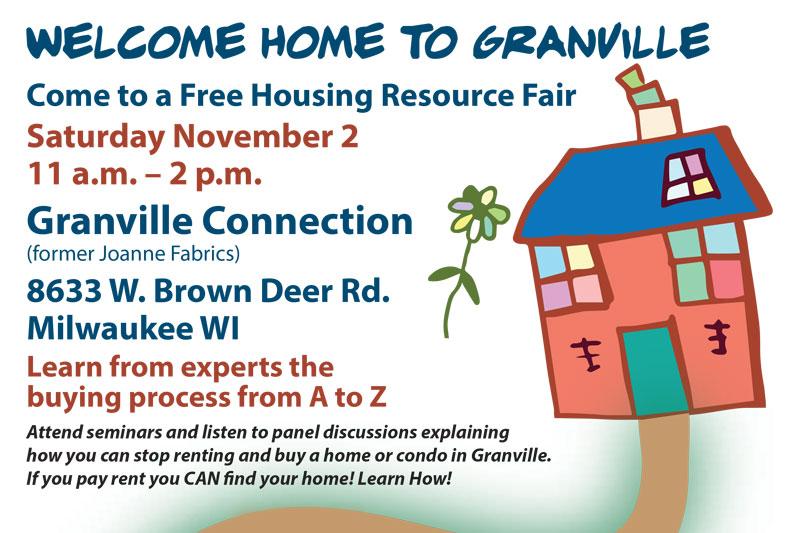 Housing Resource Fair Nov 2nd