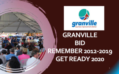 Granville BID 2019 Annual Meeting Presentaton