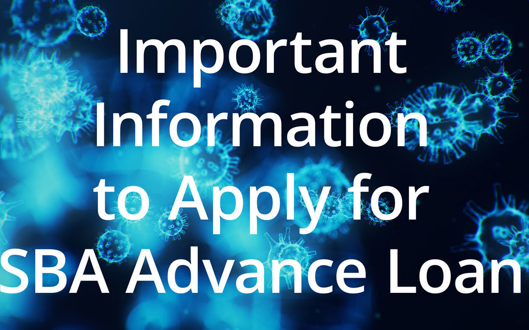 Important Information to Apply for SBA Advance Loan