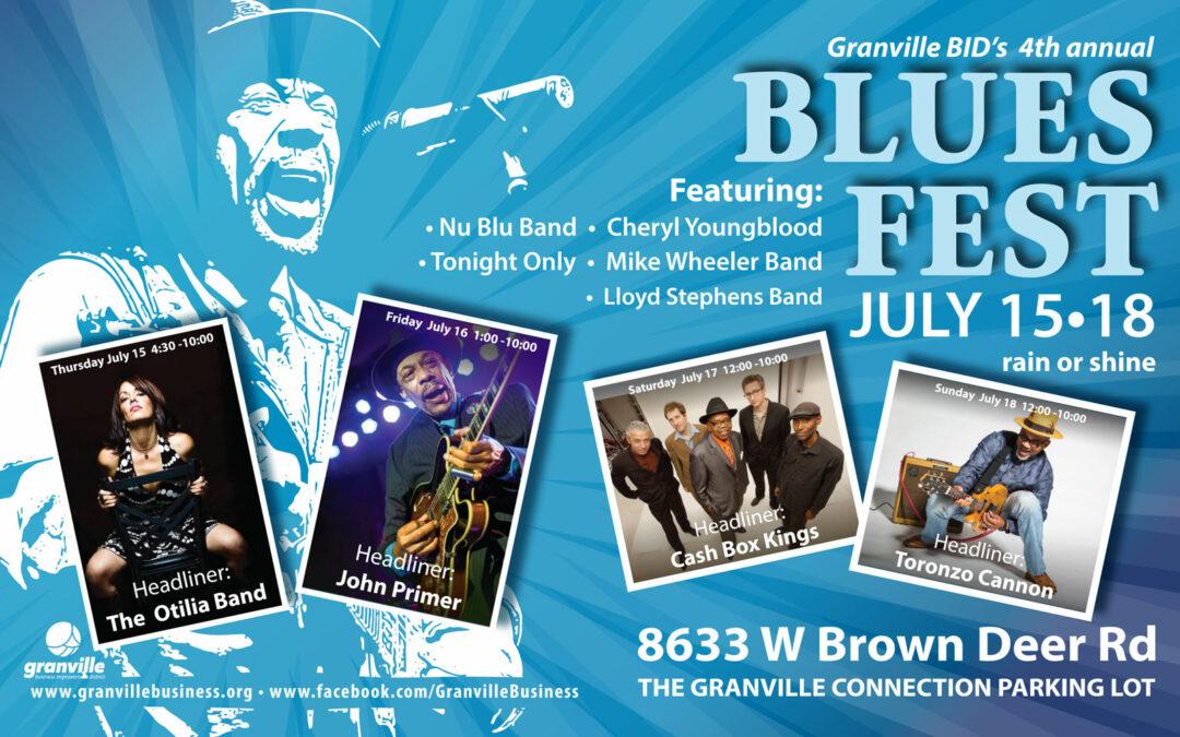 2021 Granville Blues Fest