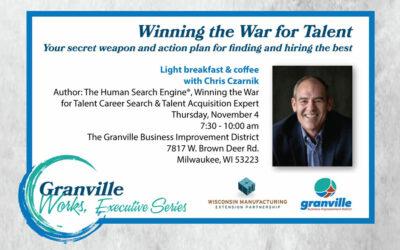 Winning the War For Talent – Nov 4th